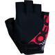 Roeckl Bellavista Handschuhe schwarz/rot